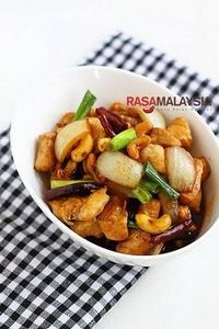 Spicy Cashew Chicken  | ramalaysia - 235 Chinese Recipes - RecipePin.com