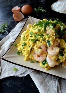 Stir-fried Shrimp and Eggs by thew - 235 Chinese Recipes - RecipePin.com