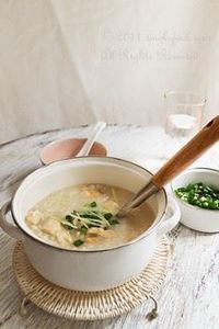 Heartwarming Chicken Ginger Congee - 235 Chinese Recipes - RecipePin.com