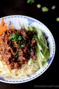 Zha Jiang Mian—Minced Pork Noodles - 235 Chinese Recipes - RecipePin.com