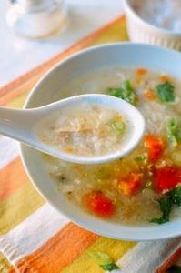 Turkey Congee, by thewoksoflife.co - 235 Chinese Recipes - RecipePin.com