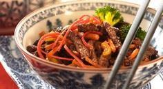 Stir Fried Beef With Carrots And B - 235 Chinese Recipes - RecipePin.com