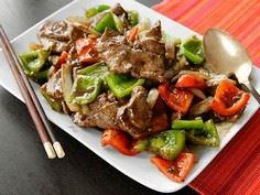 Chinese Pepper Steak (Stir-Fried B - 235 Chinese Recipes - RecipePin.com