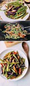 Eggplant String Bean Stir Fry Reci - 235 Chinese Recipes - RecipePin.com