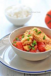 Scrambled Eggs with Tomatoes - 235 Chinese Recipes - RecipePin.com