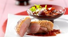 Peking Duck: Crispy Duck With Plum - 235 Chinese Recipes - RecipePin.com