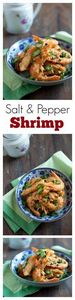 Salt & Pepper Shrimp  - Chines - 235 Chinese Recipes - RecipePin.com