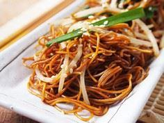 Soy Sauce Fried Noodles - 235 Chinese Recipes - RecipePin.com