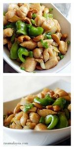 Chinese Cashew Chicken with only 3 - 235 Chinese Recipes - RecipePin.com
