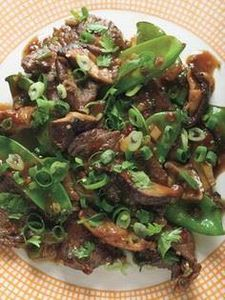 Beef, Shiitake, and Snow Pea Stir- - 235 Chinese Recipes - RecipePin.com