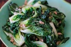 Baby Bok Choy with Ground Chicken  - 235 Chinese Recipes - RecipePin.com