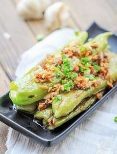 Chinese Sautéed Green Peppers-Tige - 235 Chinese Recipes - RecipePin.com