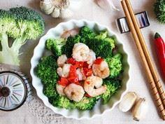 Saute Broccoli with Shrimp - 235 Chinese Recipes - RecipePin.com