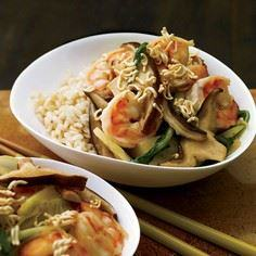 Shrimp-and-Bok Choy Stir-Fry with  - 235 Chinese Recipes - RecipePin.com
