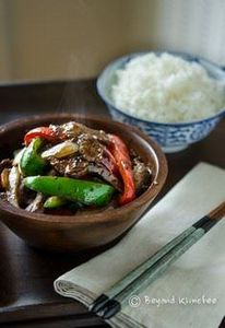 Beef & Pepper Stir Fry with Bl - 235 Chinese Recipes - RecipePin.com
