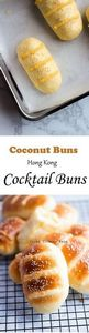 Coconut Buns (Cocktail Buns) | Chi - 235 Chinese Recipes - RecipePin.com
