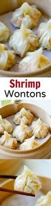 Shrimp wontons – easy peasy shrimp - 235 Chinese Recipes - RecipePin.com