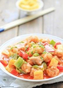 Sweet and sour pork with pineapple - 235 Chinese Recipes - RecipePin.com