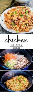 Chicken Lo Mein - get stir-frying  - 235 Chinese Recipes - RecipePin.com
