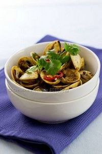Stir-Fried Clams with Black Bean S - 235 Chinese Recipes - RecipePin.com