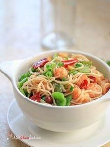 Easy Shrimp Chow Mien - 235 Chinese Recipes - RecipePin.com