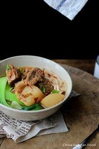 Red Braised Beef Noodle Soup |Chin - 235 Chinese Recipes - RecipePin.com