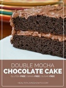 Double Mocha Chocolate Cake | heal - 230 Chocolate Dessert Recipes - RecipePin.com