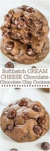 Softbatch Cream Cheese Chocolate-C - 230 Chocolate Dessert Recipes - RecipePin.com