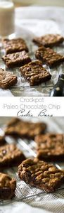 Crock Pot Paleo Cookies with Choco - 230 Chocolate Dessert Recipes - RecipePin.com