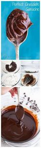 Easy  fail-proof chocolate ganache - 230 Chocolate Dessert Recipes - RecipePin.com