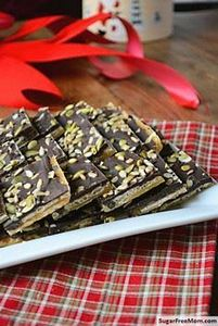 Toffee Crunch Bark, Gluten & N - 230 Chocolate Dessert Recipes - RecipePin.com