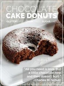 Chocolate Cake Donuts | healthyliv - 230 Chocolate Dessert Recipes - RecipePin.com
