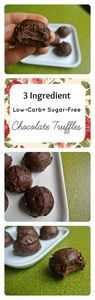 3 Ingredient Low-Carb + Sugar-Free - 230 Chocolate Dessert Recipes - RecipePin.com