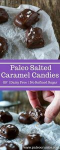 Paleo Salted Caramels {No Refined  - 230 Chocolate Dessert Recipes - RecipePin.com