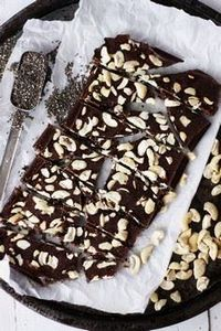 CRUNCHY CHIA CHOCOLATE with MACA,  - 230 Chocolate Dessert Recipes - RecipePin.com