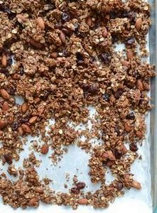 Chocolate Almond Olive Oil Granola - 230 Chocolate Dessert Recipes - RecipePin.com
