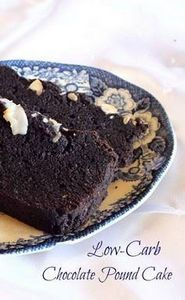 Low-Carb Chocolate Pound Cake **SU - 230 Chocolate Dessert Recipes - RecipePin.com