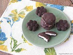 Homemade Peppermint Patties {No Ad - 230 Chocolate Dessert Recipes - RecipePin.com