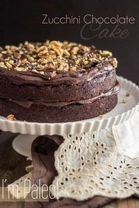 Paleo Zucchini Chocolate Cake | ww - 230 Chocolate Dessert Recipes - RecipePin.com