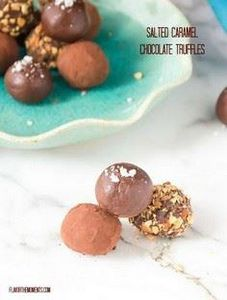Salted Caramel Chocolate Truffles  - 230 Chocolate Dessert Recipes - RecipePin.com