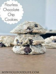 The BEST Flourless Chocolate Chip  - 230 Chocolate Dessert Recipes - RecipePin.com