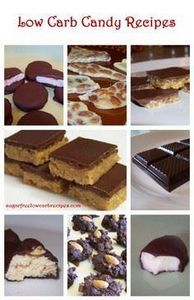 Homemade Sugar Free Low Carb Candy - 230 Chocolate Dessert Recipes - RecipePin.com