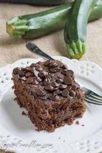 Crock Pot Sugar Free Chocolate Zuc - 230 Chocolate Dessert Recipes - RecipePin.com