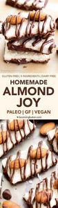 Paleo Almond Joy  - 230 Chocolate Dessert Recipes - RecipePin.com