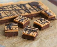 Peanut Butter Fudge Brownies- low  - 230 Chocolate Dessert Recipes - RecipePin.com