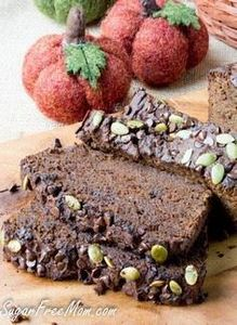 chocolate-pumpkin-bread-5 - 230 Chocolate Dessert Recipes - RecipePin.com