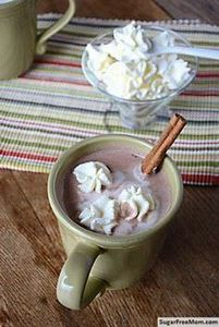 Sugar-Free Hot Chcoolate/sugarfree - 230 Chocolate Dessert Recipes - RecipePin.com