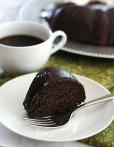 Healthy Chocolate Zucchini Bundt C - 230 Chocolate Dessert Recipes - RecipePin.com