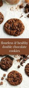 {Flourless & Healthy} Double C - 230 Chocolate Dessert Recipes - RecipePin.com