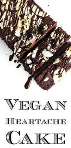 Vegan Heartache Cake (Chocolate Eg - 230 Chocolate Dessert Recipes - RecipePin.com